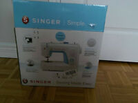 Singer Simple 3221 & fabric for sale