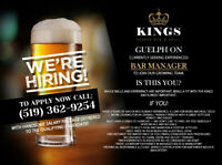 SMART BAR MANAGER REQUIRED IN GUELPH