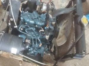 KUBOTA DIESEL ENGINE 2 CYLINDER ONLY 445 HOURS