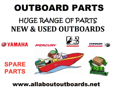 Outboard motor parts Honda Yamaha Evinrude Johnson Mariner Merc