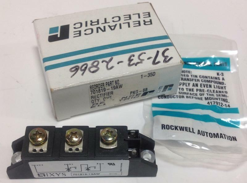 RELIANCE ELECTRIC RECTIFIER POWER CUBE 701819-19AW NIB *PZB*