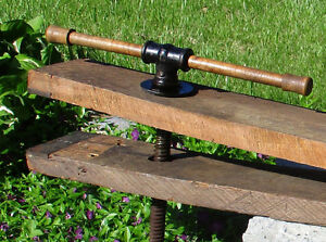 SOLD - Antique Large Woodworker's Vise