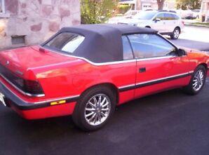 1988 Chrysler Lebaron, Convertible, turbo