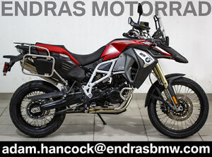 2017 BMW F800GS Adventure - Racing Red Metallic