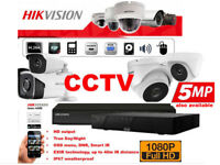 Full HD 1080p Hikvision CCTV Security Camera Installation. Includes Fitting & Mobile Phone Viewing.