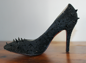 Christian Louboutin Black Studs, great condition, Size 39. Rose Bay Eastern Suburbs Preview