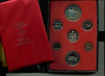 CANADA 1973 7 COIN PROOF SET ORIGINAL BOX 5304H