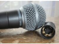 Shure SM58 Microphone With 3-Pin XLR Audio Cable