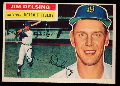 1956 Topps Baseball #338 Jim Delsing (NM+) GB c05980