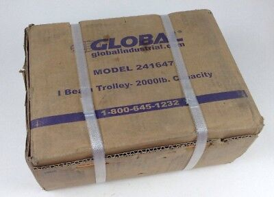Global 241647 Beam Trolley 2000 Lb Capacity Nib Free Shipping