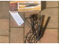 BLACK CERAMIC HAIR STRAIGHTENERS BY HAIR TOOLS LIMITED - Replacement Parts Only