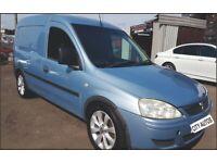 VAUXHALL COMBO 2010 1.2 DIESEL 145k MILES Car Derived Van Manual Blue