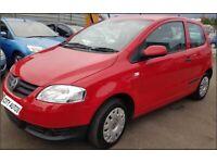 Volkswagen Fox 2010 1.2 6V Urban Fox 20k MILES 3 DOORS MANUAL RED
