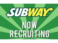Subway Store Managers / Team Leaders - full time