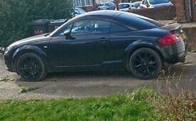 For sale 1yr MOT Black Audi TT coupe 05