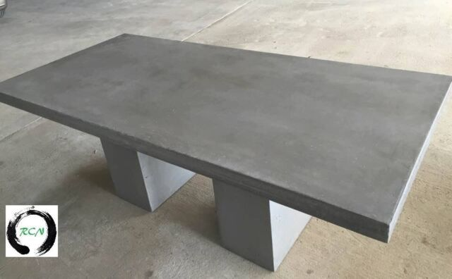 Indoor Outdoor Lightweight Concrete Dining Table Quot The