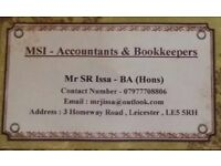 Professional Accountants , Bookkeepers & Tax Advisors at LOW COST in UK - FREE CONSULTATION & ADVISE