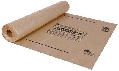Underlayment Roll - Aquabar B Floor Tile Underlayment Roll 500 sq ft Laminated Asphalt Extremely