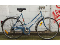 French Vintage ladies racing bike MBK size frame 20 serviced ready to go - Welcome for test ride