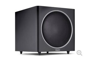 Polk Audio PSW125 12in Powered Subwoofer - Black