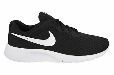 New Nike Mens Tanjun Running Trainers Shoes Lightweight - black / white 10uk 43e