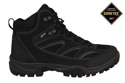 Ecco XPEDITION III TORRE Mid Cut Boot (811164-GTX, Slip Resistant, Lite, Black) Mid Cut Slip