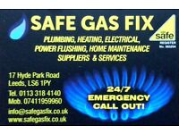 LEEDS GAS ENGINEER-BOILER REPAIRS/SERVICES,GAS INSTALLATIONS,L/LORDS CERTIFICATES,FIRES,COOKERS ETC