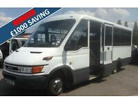IVECO DAILY 50C13 CWL 4.35M E111 16 PASSENGER BUS with Electric Wheelchair Lift welfare bus