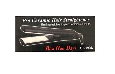 Brand New Pro Ceramic Hair Straightener Flat Iron 1 inch Best Hair Days