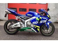 2006 Honda CBR600RR-6, low mileage example, px or swap considered