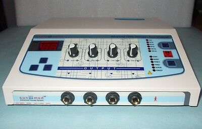 New Professional Use 4 Channel Electrotherapy Model Dynoplus Pain Management