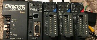 Automation Direct Plc Trainer D2-04b D2-250 D2-16na D2-12ta