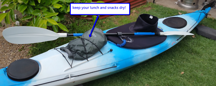Ahoy! Sea Kayak 4.4m + paddle + extras Ex.Cond. Get Paddling now!
