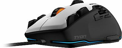 Roccat Tyon Multi-Button Gaming Mouse weiß USB Maus K1/F5-2241 8200 dpi UVP*109€