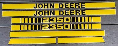 John Deere 2350 Hood Decals