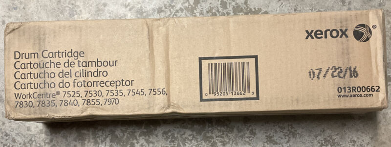 Genuine Xerox 013R00662 Drum Cartridge 7525 7530 7535 7545 7556 7830 7835 7840