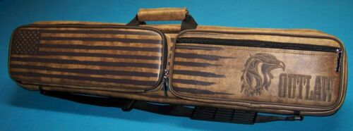Outlaw 4X8 Pool Cue Case Brand New