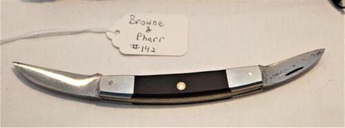 Browne & Pharr Pocket Knife.