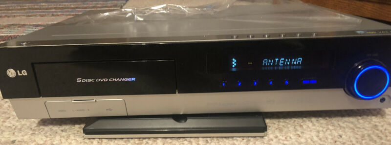 LG lh-e9674 5 Disc DVD Changer Home Receiver Unit Tested + Remote L G LH-E9674