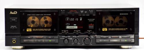AKAI A&D GX-W4500 Stereo Double Cassette Deck