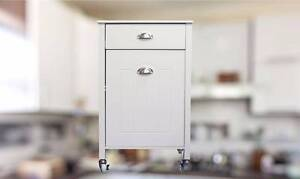 Twin Bin Kitchen Trolley with drawer Kingswood Penrith Area Preview