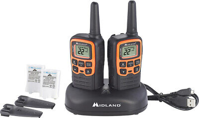 Midland - X-talker 28-mile, 22-channel Frs/gmrs 2-way Radios