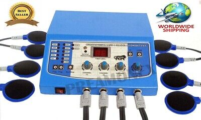 Home Use 4-ch Electrotherapy Physical Body Relief Ultrasound Machine Physio -jhd