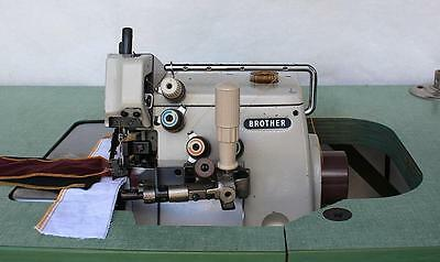 Brother Ma4 B551 2n 5-thread Overlock Purl Stitch Industrial Sewing Machine Head
