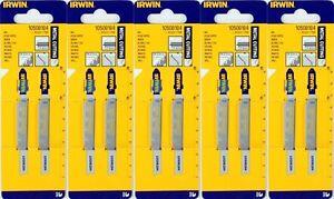 10-x-Irwin-HSS-Jig-Saw-Blades-Metal-cutting-11-13-TPI-Progressive-Bosch-T118B