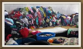 Permanent Warehouse Workers second hand clothing sorting. Cobham, Gravesend
