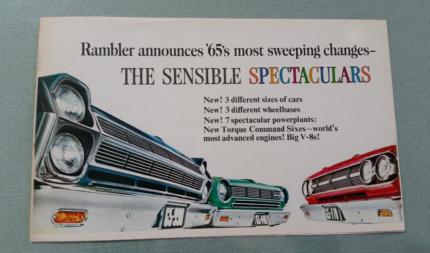 Rambler nos   sales brochure free postage