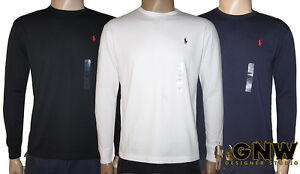 RALPH-LAUREN-POLO-DESIGNER-MENS-LONG-SLEEVE-T-SHIRT-TEE-SHIRT-S-M-L-XL-NWT