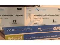 Shrewsbury Comedy Festival Tickets