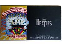 ACME BEATLES ROLLERBALL PEN & CARD CASE SET IN BEAUTIFUL BOX MAGICAL MYSTERY TOUR - ARTIST PROOF LTD